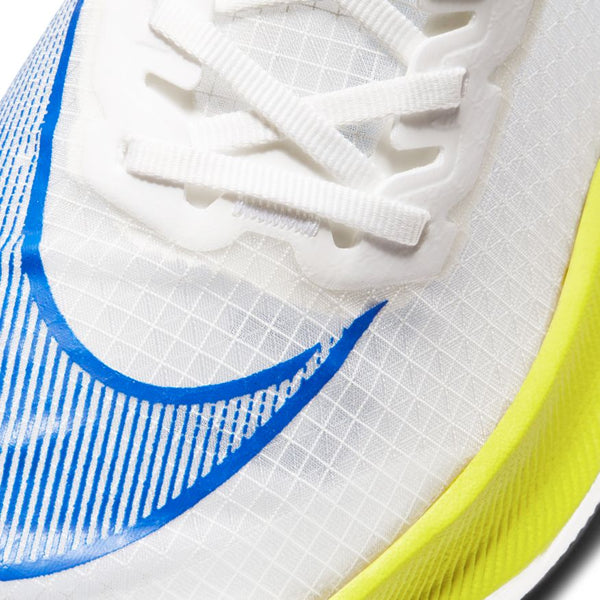 Nike M ZoomX Vaporfly Next % (White/Racer Blue/Cyber Black)