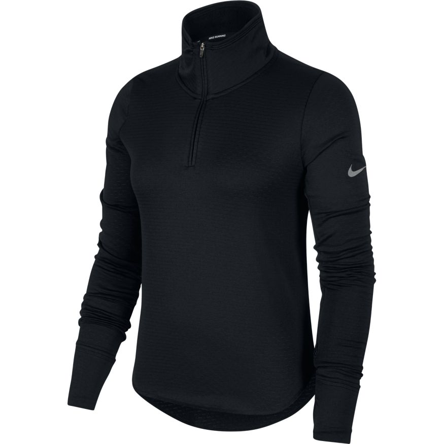 Nike W Sphere Element L/S Run Top (Black)
