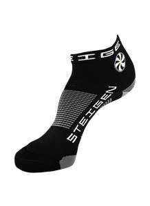 Steigen Unisex (5-12) 1/4 Length (Black)