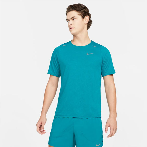 Nike M Breathe Rise 365 S/S Run Top (Green)