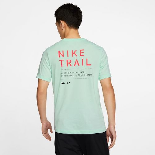 Nike Dry-Fit Trail T-Shirt (Mint Foam)