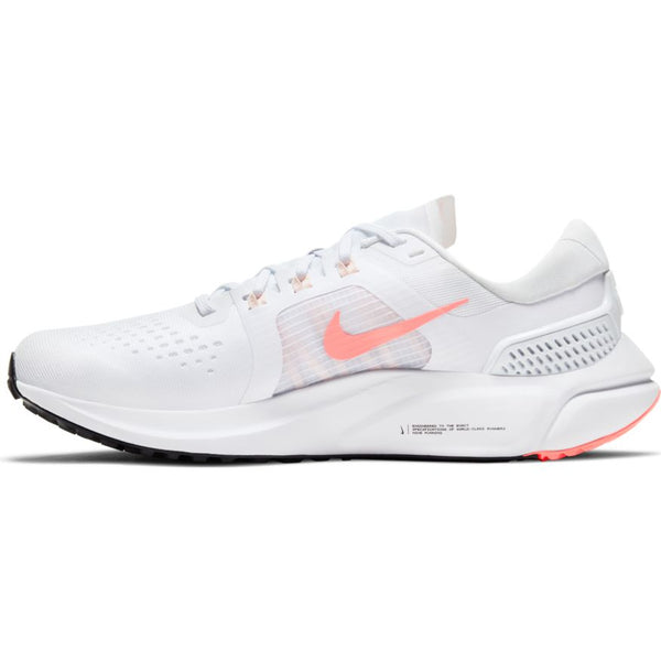 Nike W Air Zoom Vomero 15 (White/Crimson Pulse)