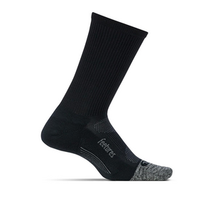 Feetures Elite Light Cushion Mini-Crew (Black)