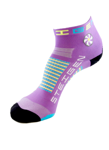 Steigen Unisex (5-12) 1/4 Length (Bubblegum Purple)