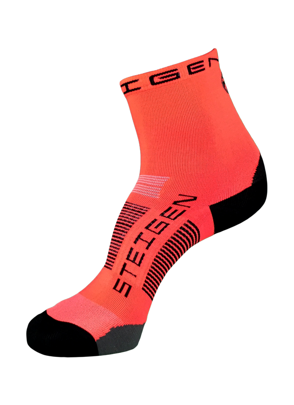 Steigen Unisex (5-12) 1/2 Length (Orange/Black)