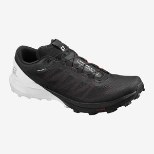 Salomon M Sense 4 Pro (Black/White/Cherry Tomato)