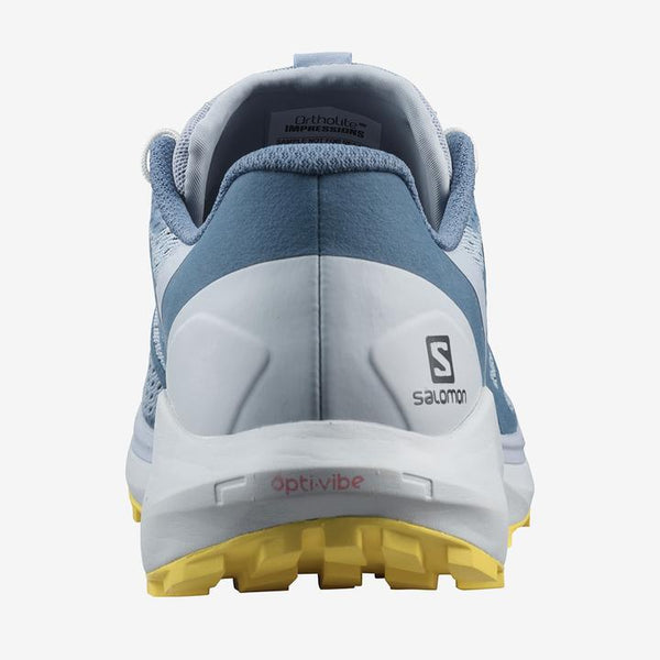 Salomon W Sense Ride 4 (Arctic Ice/Kentucky Blue/Lemon Zest)