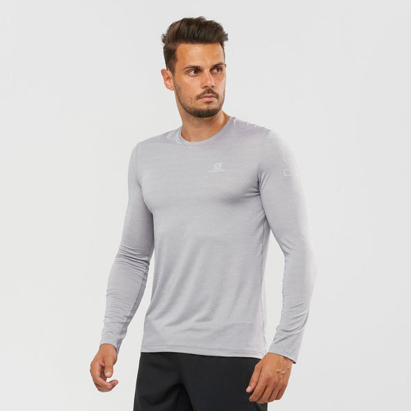 Salomon M XA L/S Run Tee (Alloy)