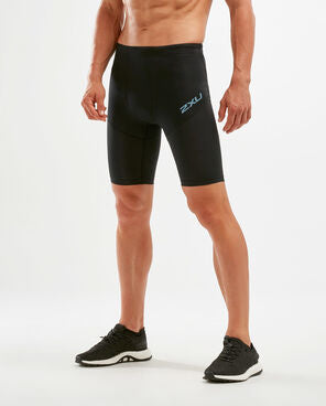 2XU M Run Dash Compression Shorts (Black/DNF)