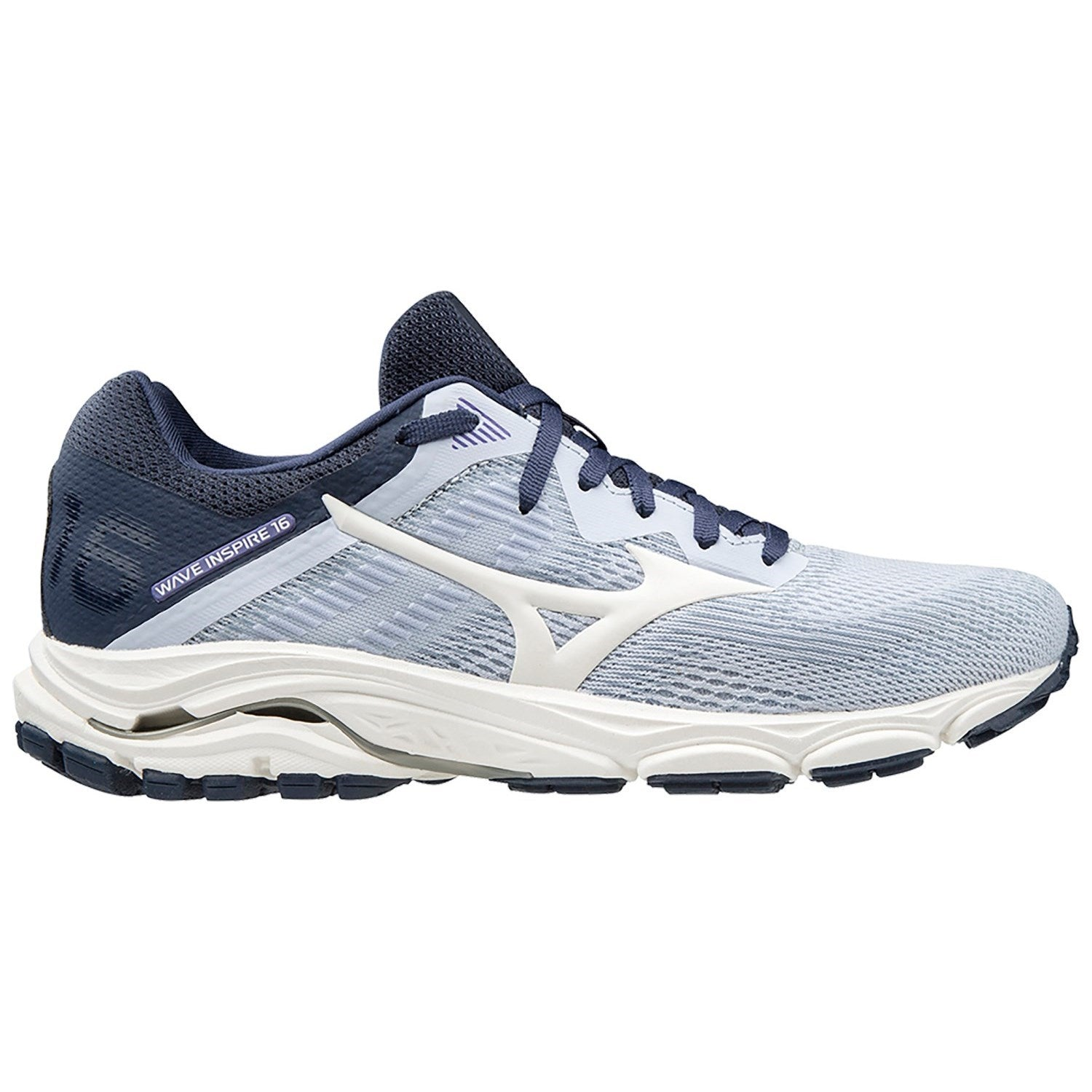 Mizuno W Wave Inspire 16 (Artic Ice/Mood Indigo)