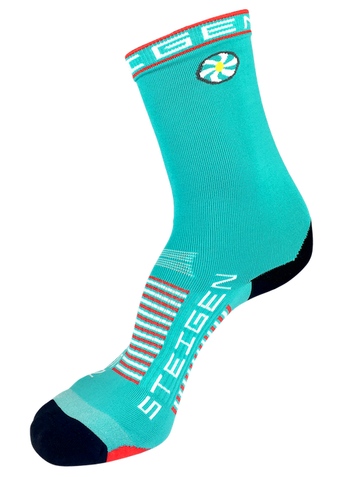 Steigen Unisex (5-12) 3/4 Length (Teal/Red)