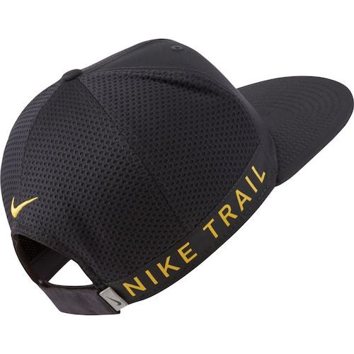 Nike Unisex Dri Fit Pro Trail Cap (Black) (1 Size fits all)