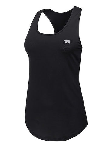 Running Bare Back to Bare Tank (Black)