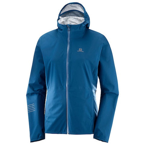 Salomon W Lightning Waterproof Jacket (Poseidon)