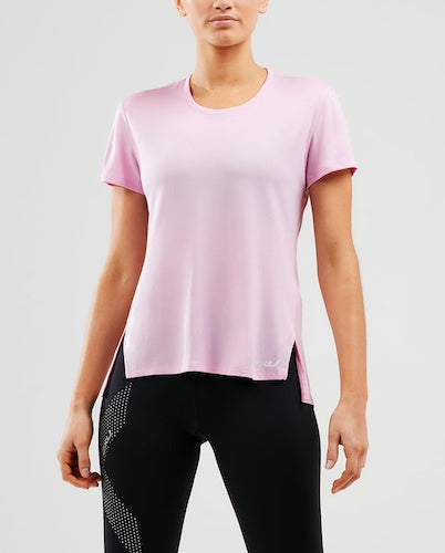 2XU W X Vent G2 Mesh S/S Tee (Zephyr/White/Reflective)