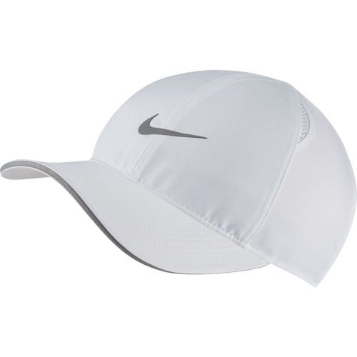 Nike Unisex Featherlight Run Cap (White)