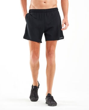 "2XU M Active 5"" Free Short (Black)"