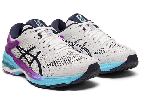 Asics W Gel-Kayano 26 (White/Peacoat)