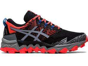 Asics W Gel-Fuji Trabuco 8 (D) (Flash Coral/Sheet Rock)