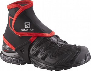 Salomon High Trail Gaiter (Black/Red)