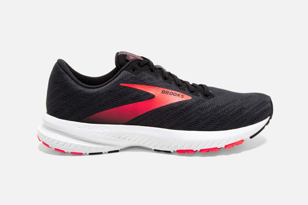 Brooks W Launch 7 (Black/Grey/Coral)