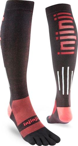 Injinji M Ultra Compression Sock (Blk/MD)