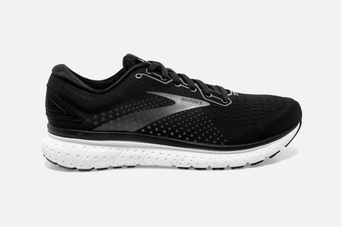 Brooks M Glycerin 18 (2E) (Black/White)