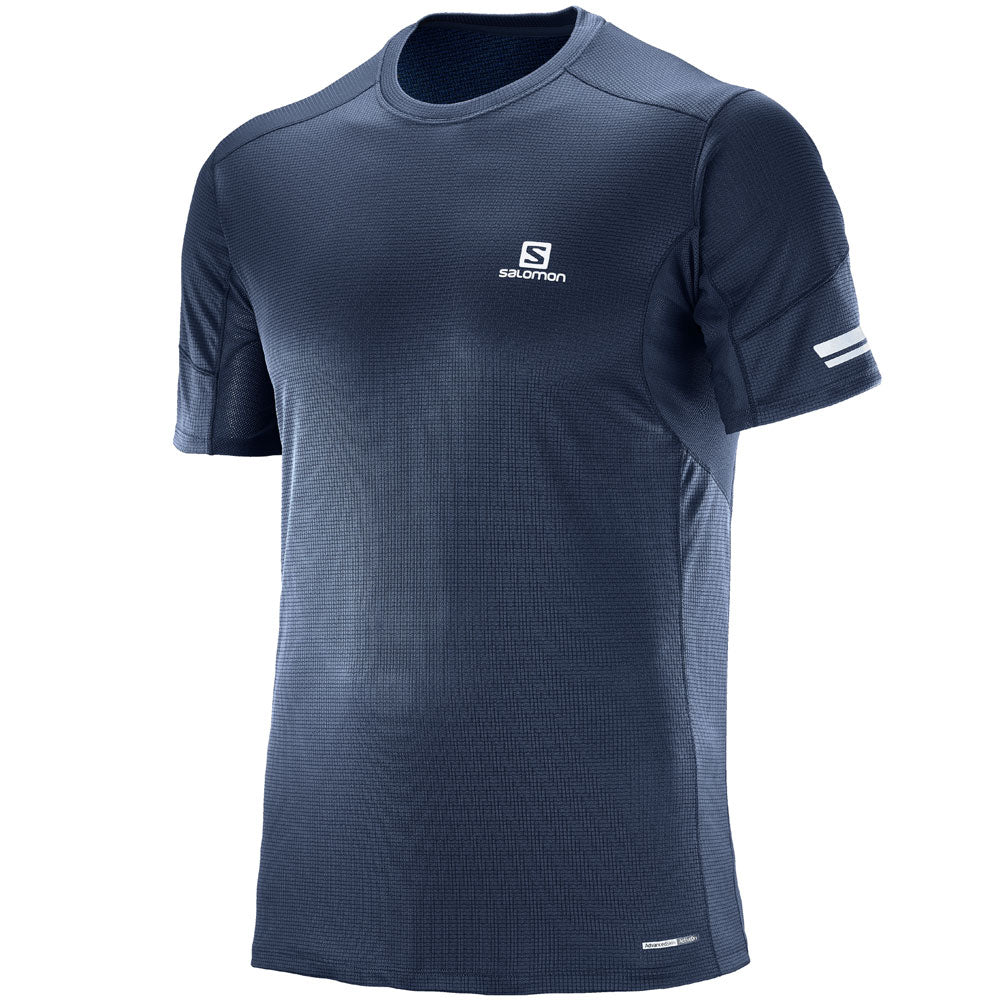 Salomon M Agile S/S Tee (Dress Blue)