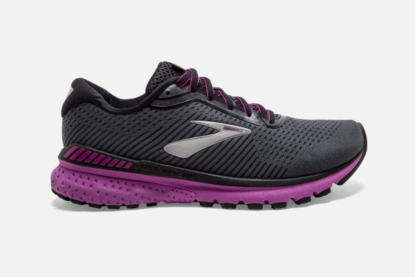 Brooks W Adrenaline GTS 20 (Ebony/Black/Holyhock)