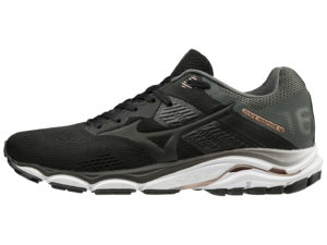 Mizuno W Wave Inspire 16 (Black/Gold)