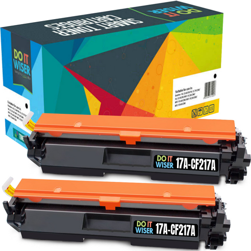 HP 17A Toner Black 2pack