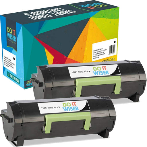 Lexmark MX611dfe Toner Black 2pack High Yield