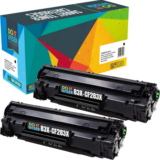 HP CF283X Toner Black 2pack High Yield