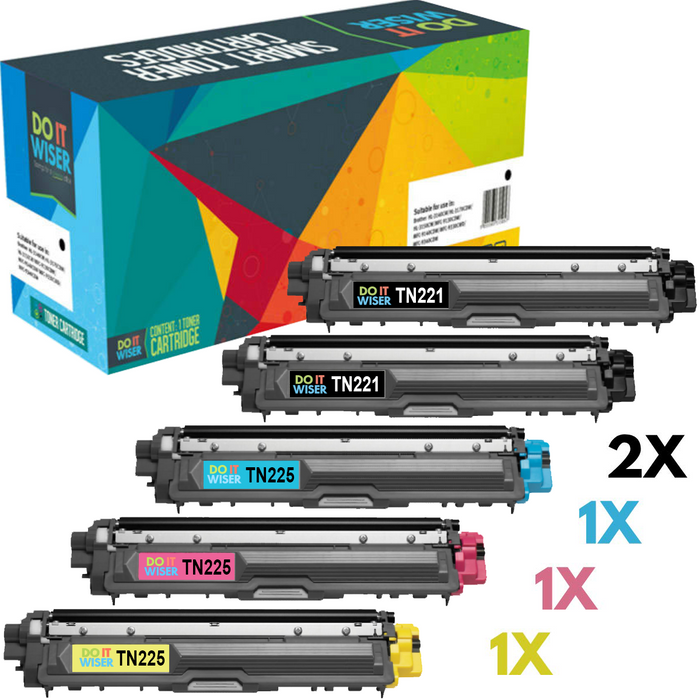 Brother DCP 9017CDW Toner 5pack High Yield