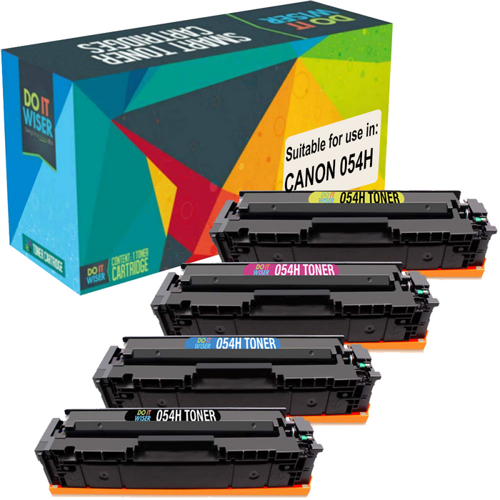 Canon 054H Toner Set High Yield