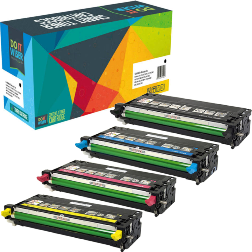 Dell 3110CN Toner Set High Yield