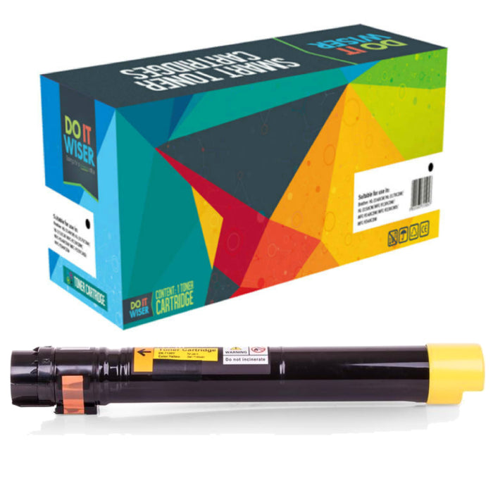 Dell 7130 Toner Yellow High Yield