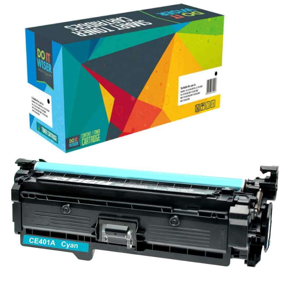 HP LaserJet Enterprise 500 Color M551xh Toner Cyan High Yield