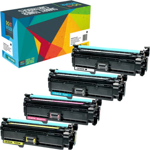 HP LaserJet Enterprise 500 Color M570dn Toner Set High Yield