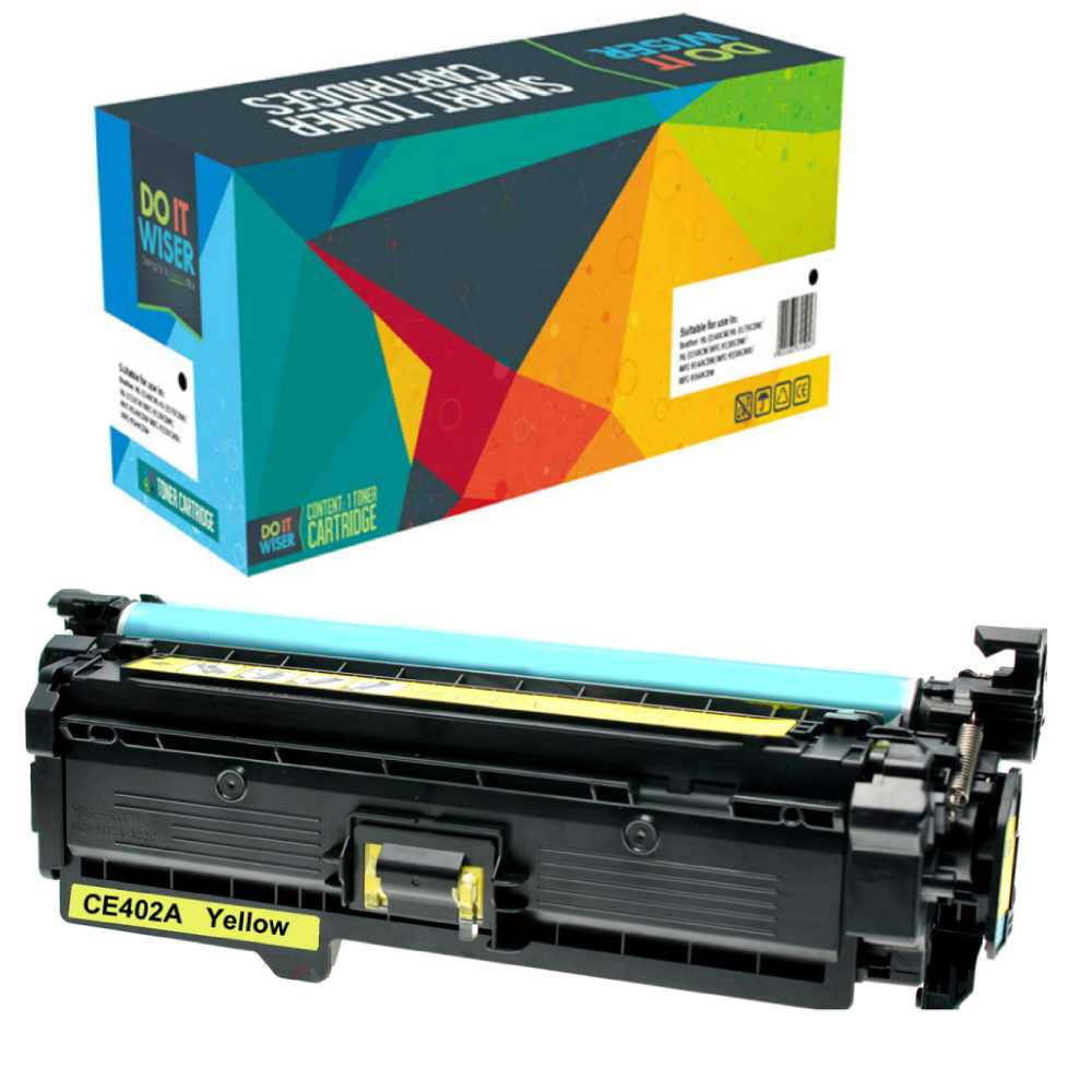 HP LaserJet Enterprise 500 Color M551xh Toner Yellow High Yield