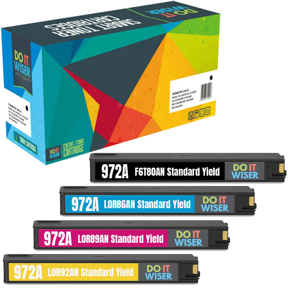 HP PageWide Pro 477dn Ink Set