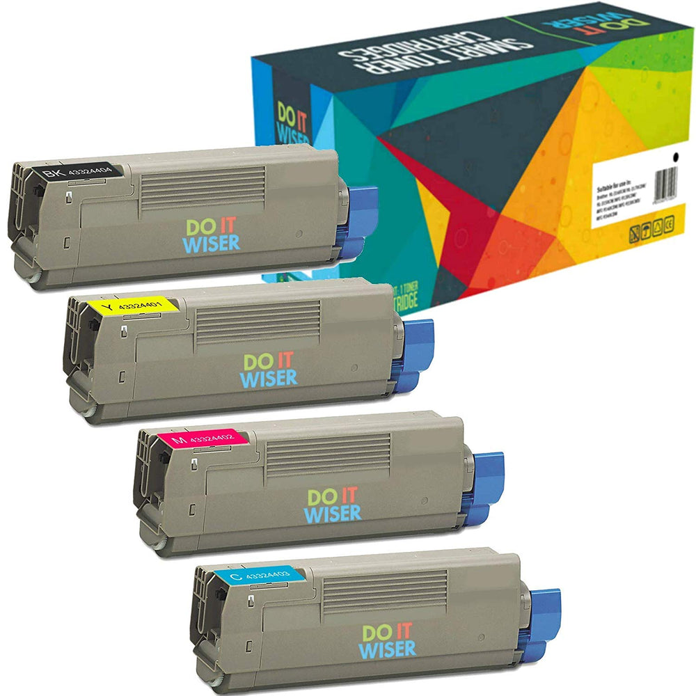 OKI C5500DN Toner Set High Yield