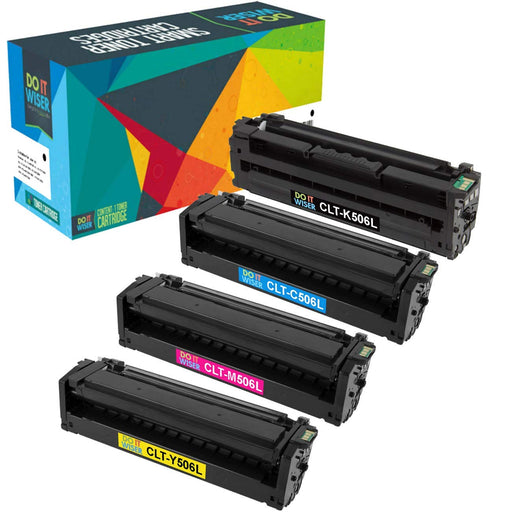 Samsung CLX 6260ND Toner Set High Yield