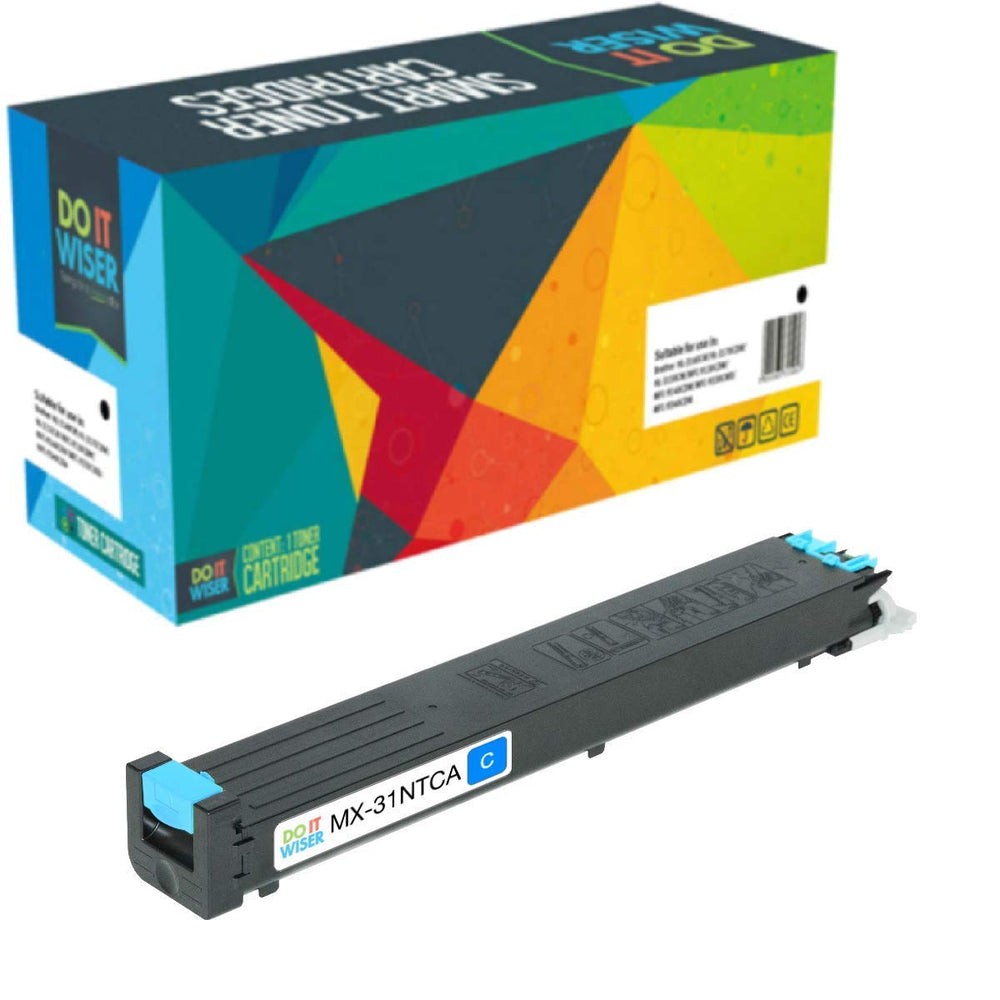 Sharp MX 5000N Toner Cyan High Yield