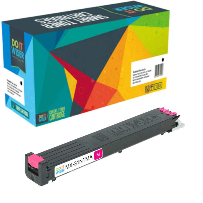 Sharp MX 31NT Toner Magenta High Yield