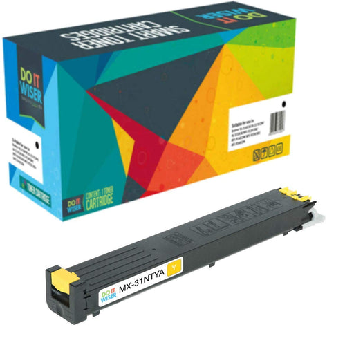 Sharp MX 3100N Toner Yellow High Yield