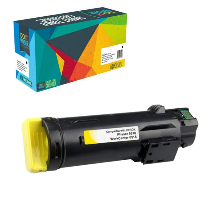 Xerox Phaser 6510N Toner Yellow High Yield