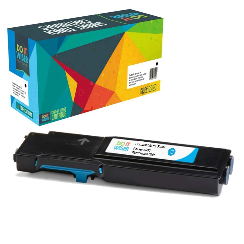 Xerox Phaser 6600dn Toner Cyan High Yield