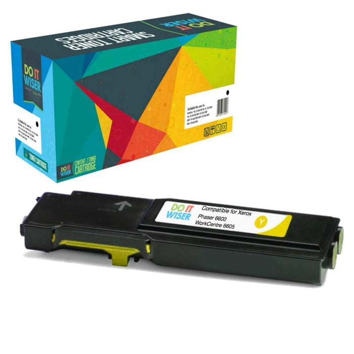 Xerox WorkCentre 6605dn Toner Yellow High Yield