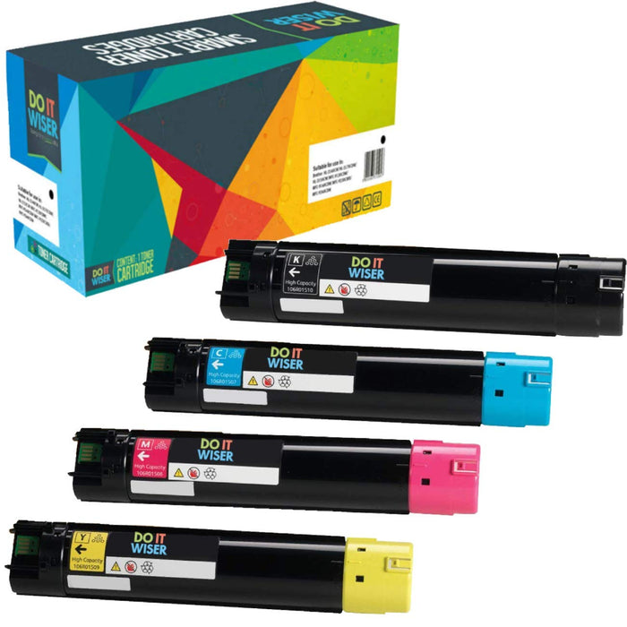 Xerox Phaser 6700DX Toner Set High Yield